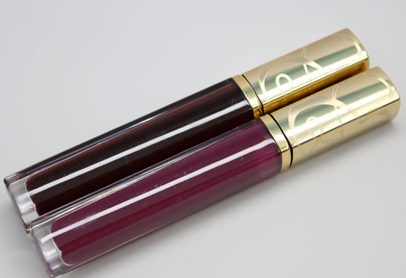 Estee Lauder Pure Color Sheer Rush Gloss in Pose Rose and Techno Jam