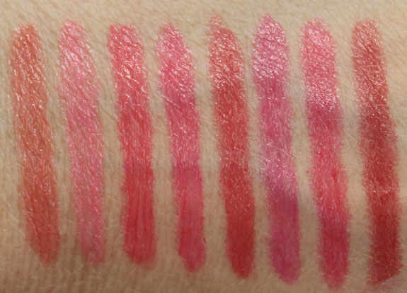 Hard Candy All Glossed Up Hydrating Lip Stain Swatches