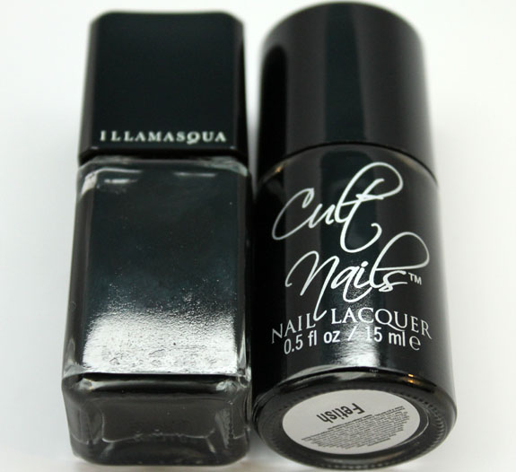 Illamasqua Scorn vs. Cult Nails Fetish 2 Illamasqua Scorn vs. Cult Nails Fetish