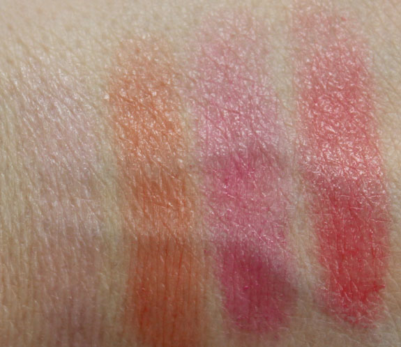 Jordana Sweet n Smooth Nourishing Lip Balm Swatch