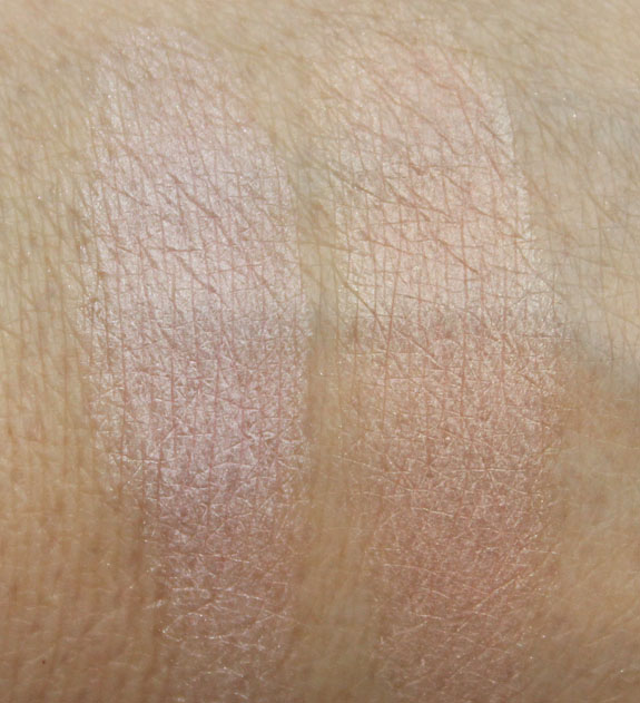 MAC Baking Beauties Pearlmatte Face Powder Swatches
