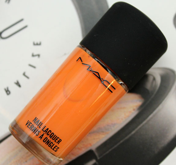 MAC Hayley Williams Nail Lacquer Riot Gear