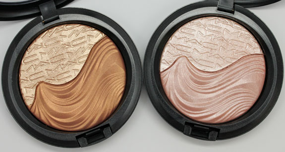 MAC In Extra Dimension Skinfinish MAC In Extra Dimension Swatches and Review