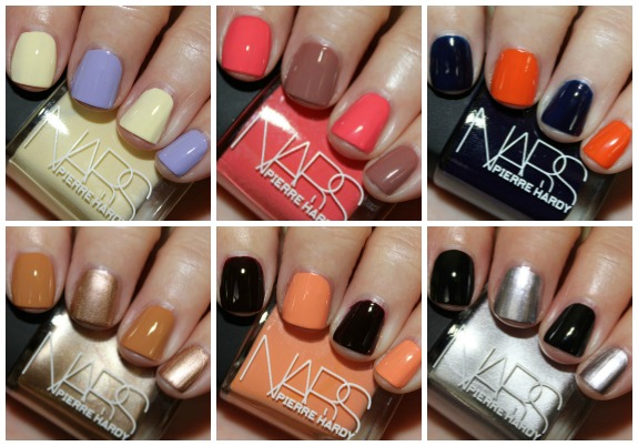 NARS Pierre Hardy Nail Polish Collection Swatches and Review | Vampy ...