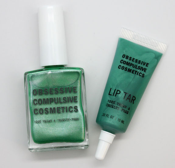OCC Power Plant Nail Lacquer and Lip Tar Obsessive Compulsive Cosmetics Power Plant Nail Lacquer and Lip Tar