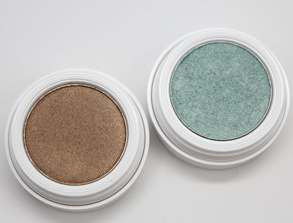 Pacifica Coconut Infused Mineral Eye Shadow in Mermaid Aqua and Treasure