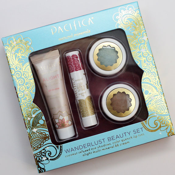 Pacifica Wanderlust Beauty Set Pacifica Wanderlust Beauty Set Swatches and Review