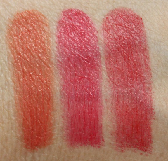 Smashbox Megatint Long Wear Lip Color Swatches