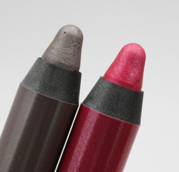 Urban Decay 24-7 Glide-On Shadow Pencil Noise and Mushroom-3