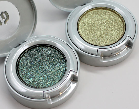 Urban Decay Moondust Eyeshadow Zodiac and Stargazer