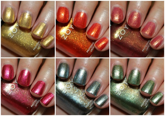 Zoya Irresistible Collage