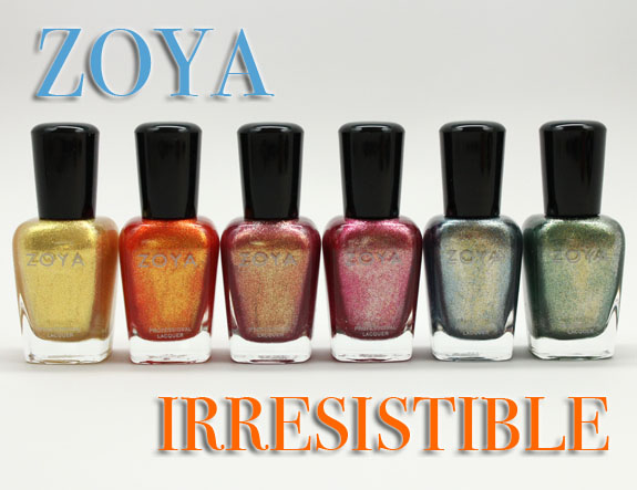 Zoya Irresistible Zoya Irresistible for Summer 2013 Swatches and Review
