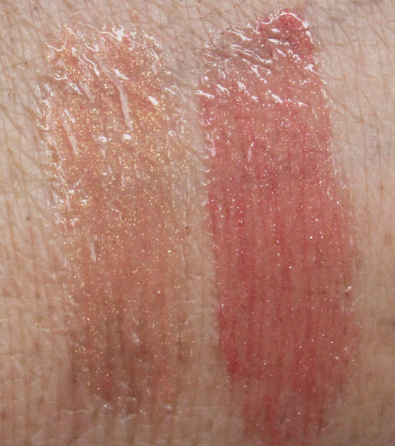 s Bees Natural Lip Gloss Swatches