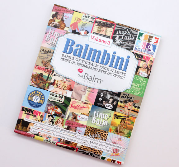 theBalm Balmbini Vol 2 theBalm Balmbini Vol. 2 Swatches and Review