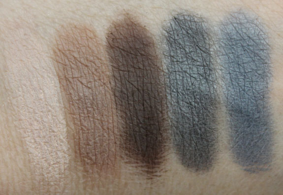 theBalm Meet Matte Swatches
