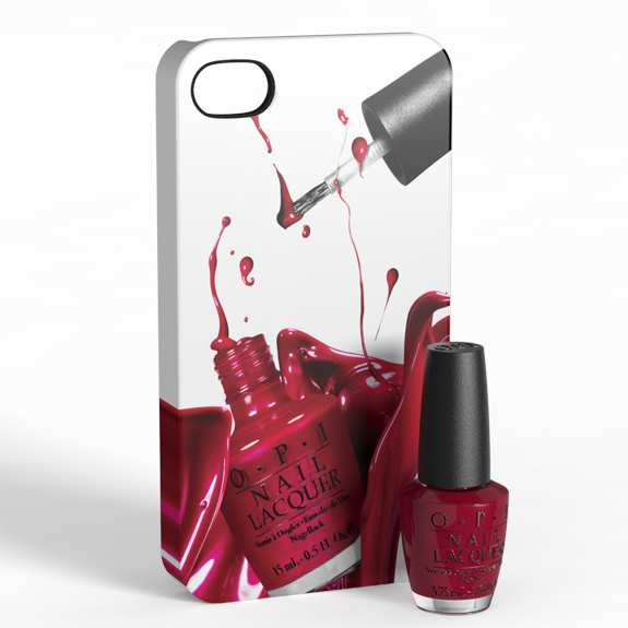 waitress 4 OPI and My Case Couture iPhone Cases