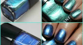 Chanel Azure and Bel-Argus Le Vernis Collage
