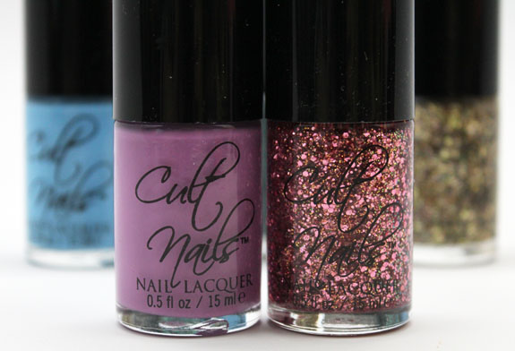 Cult Nails Dance All Night 2 Cult Nails Dance All Night Polish Collection Swatches and Review
