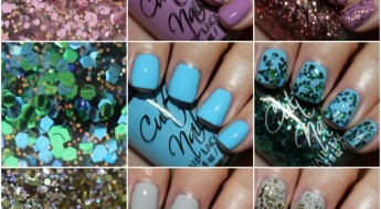 Cult Nails Dance All Night Collage