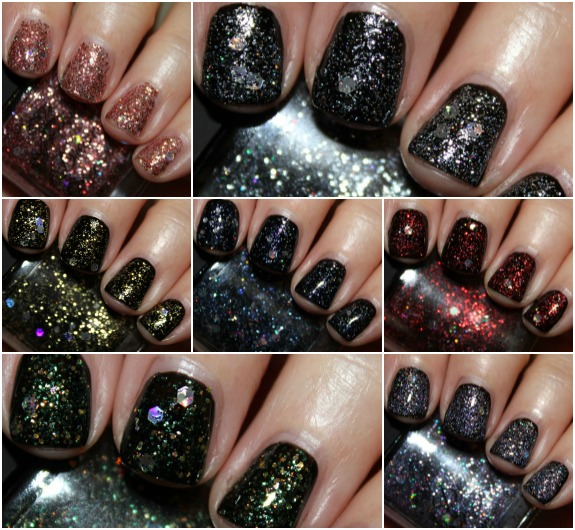 Dreams Nail Lacquer Collage