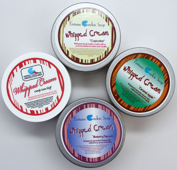 Fortune Cookie Soap Whipped Cream