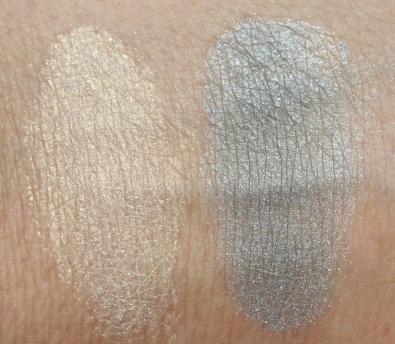 Hard Candy Poppin Pigments in Thunder & Lightning Swatches