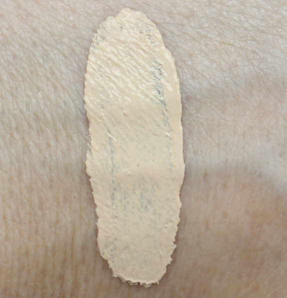 LORAC CC Cream Swatch