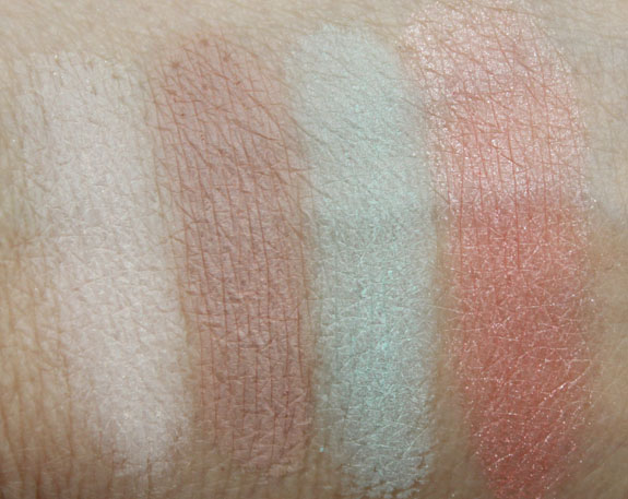 LORAC Mint Edition Swatches
