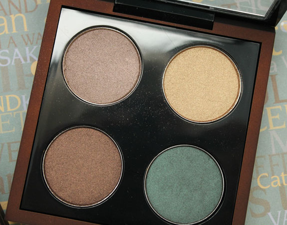 MAC Bare My Soul Eye Shadow Quad MAC Temperature Rising for Summer 2013 Swatches and Review