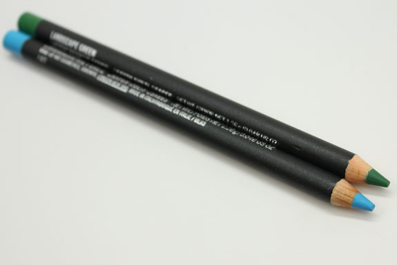MAC Chromagraphic Eye Pencil Hi-Def Cyan and Landscape Green