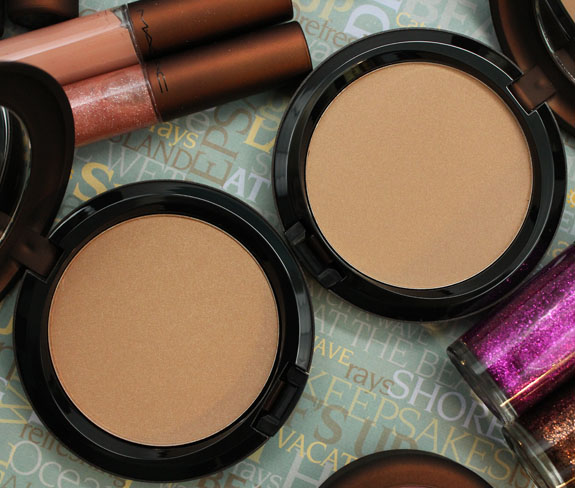 MAC Sun Dipped and Soft Sand Bronzing Powder