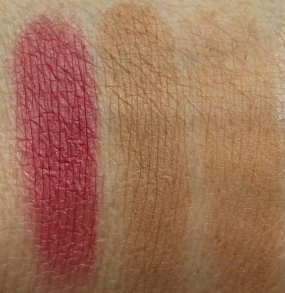 MAC Temperature Rising Swatches-2