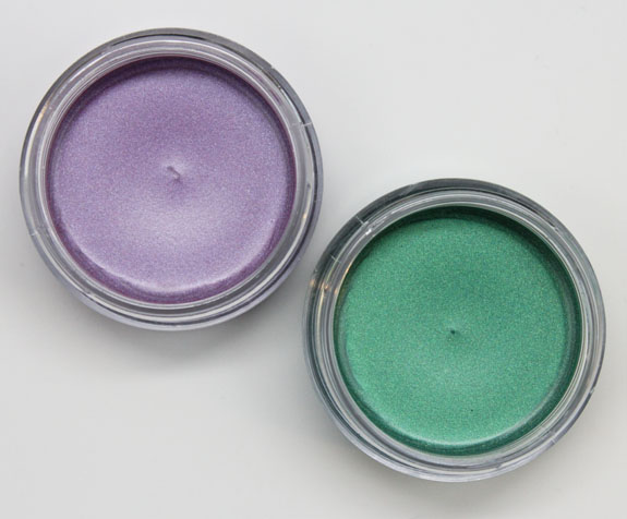 Make Up For Ever Aqua Cream Pearly Green Lagoon and Pearly Mauve-2