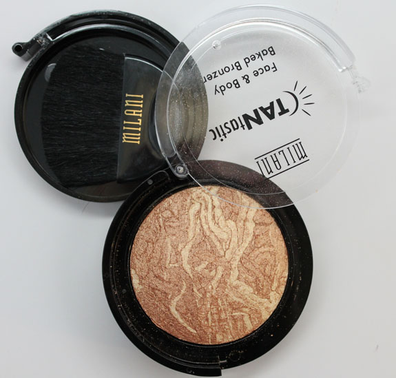 Milani Tantastic Baked Bronzer 2 Milani TANtastic Face & Body Baked Bronzer Swatches and Review