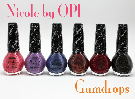 Nicole by OPI Gumdrops Nicole by OPI Gumdrops Swatches and Review