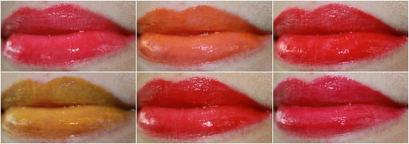 Obsessive Compulsive Cosmetics Lip Tar Stained Gloss Collage