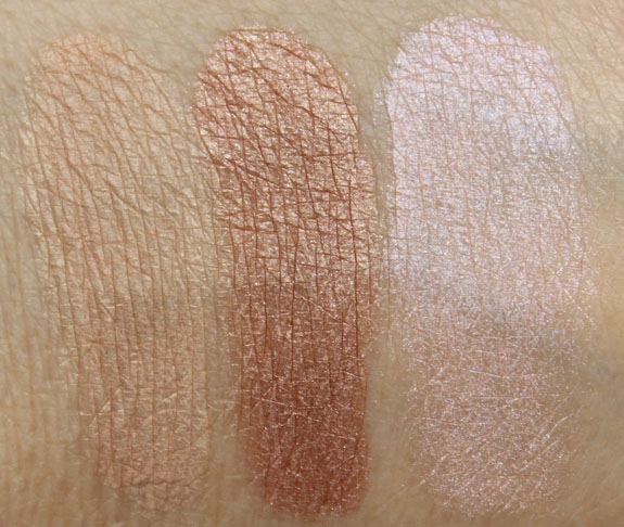 Overall Beauty Mineral Eyeshadow Swatches-2