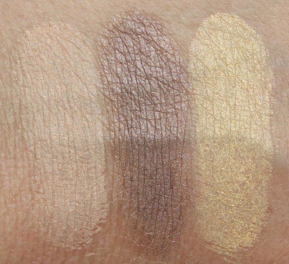 Overall Beauty Mineral Eyeshadow Swatches