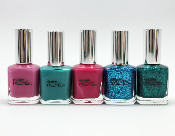 Pure Ice Summer 2013 Pure Ice Summer 2013 Nail Collection Swatches and Review