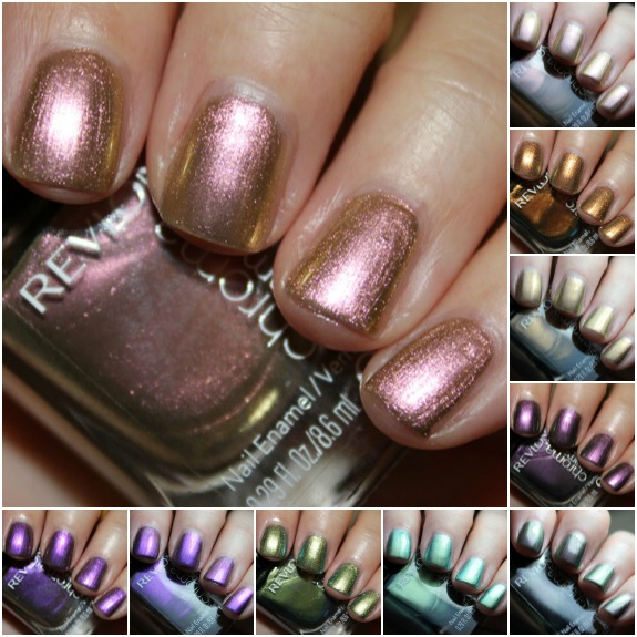 Revlon Chroma Chameleon Collage