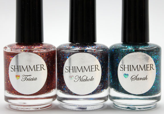 Shimmer Polish 4 Shimmer Polish Swatches and Review   Part I