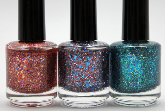 Shimmer Polish 5 Shimmer Polish Swatches and Review   Part I
