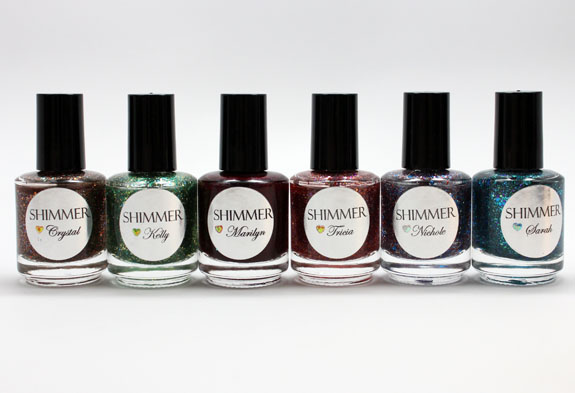 Shimmer Polish Shimmer Polish Swatches and Review   Part I