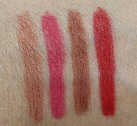 bareMinerals Marvelous Moxie Lipliner Swatches