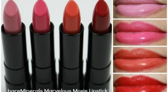 bareMinerals Marvelous Moxie Lipstick Collage