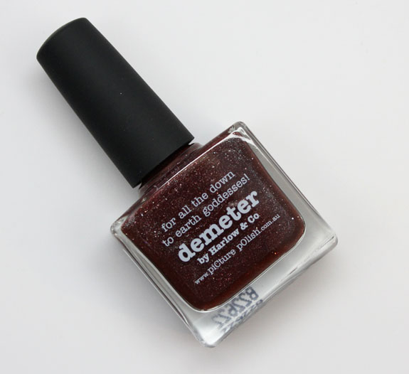 piCture pOlish Demeter by Harlow Co piCture pOlish Demeter by Harlow & Co Swatches and Review