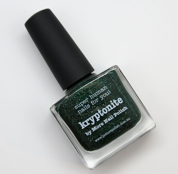 piCture pOlish Kryptonite by More Nail Polish