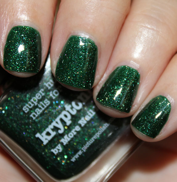 Does Glitter Nail Polish Last Longer: PiCture POlish Kryptonite By More Nail Polish Swatches And