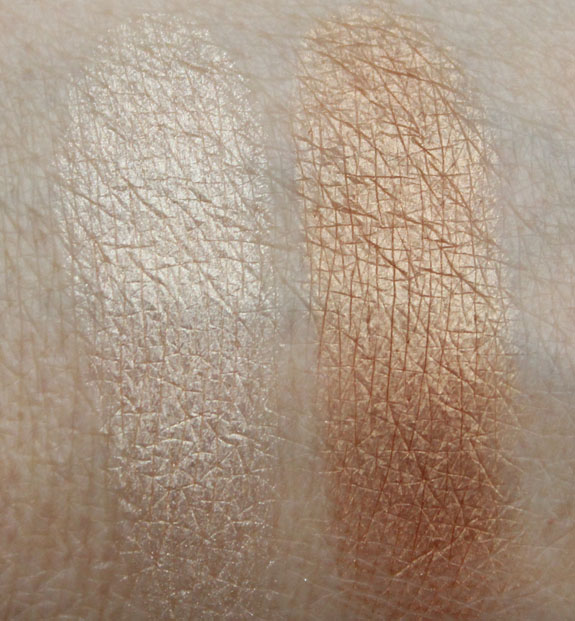 theBalm Betty-Lou Manizer and Mary-Lou Manizer Swatches