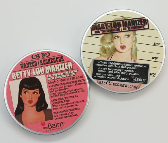 theBalm Betty-Lou Manizer and Mary-Lou Manizer